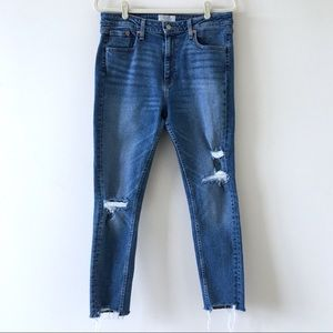Levi's | Altered 721 High Rise Skinny Jean